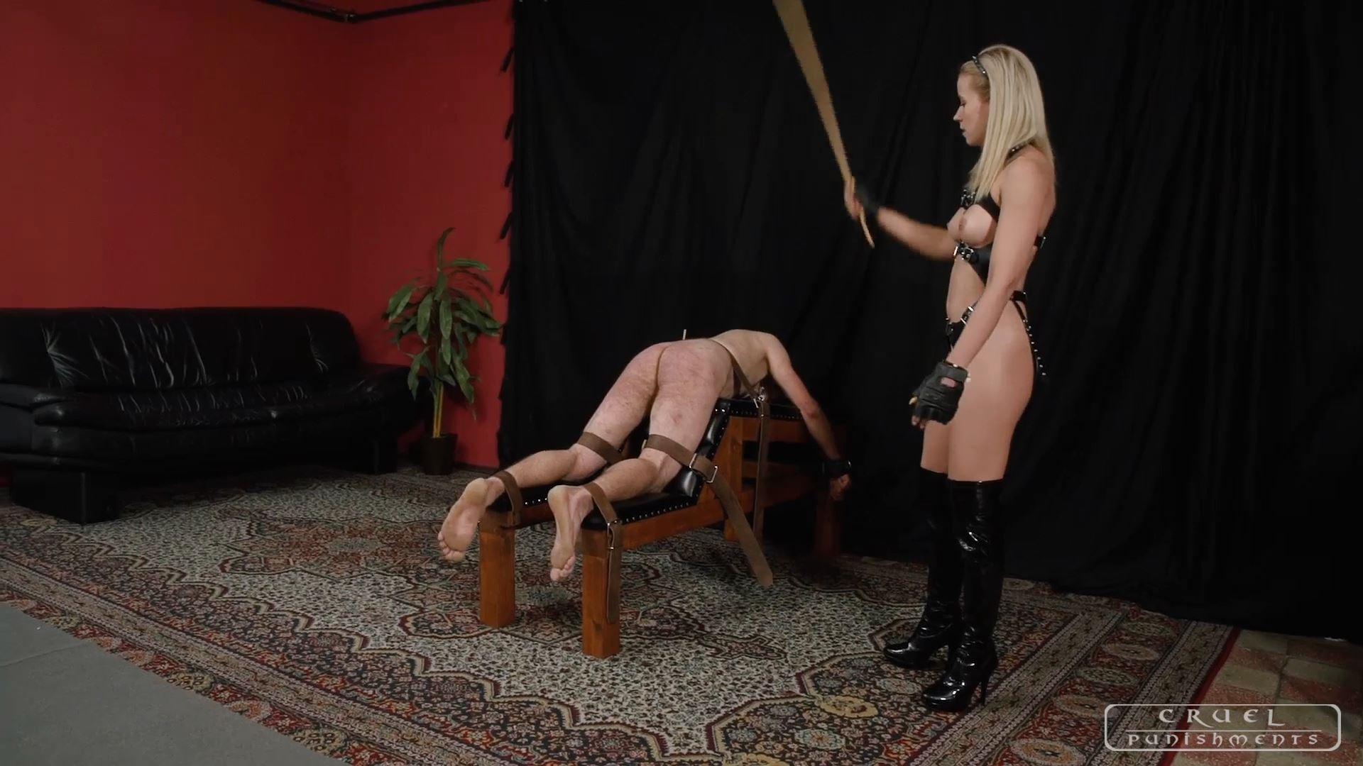Mistress Anette In Scene: Good things in having a slave Part 1 - CRUEL PUNISHMENTS - SEVERE FEMDOM - FULL HD/1080p/MP4