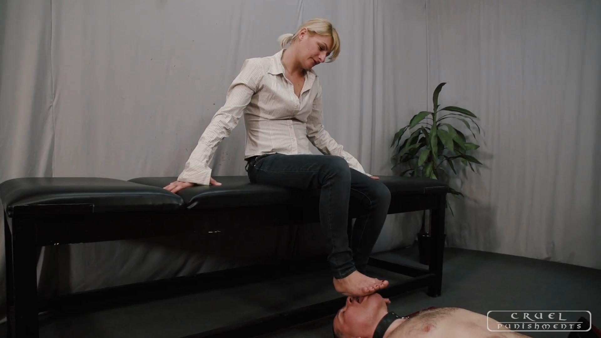 Mistress Bonnie In Scene: Forgiveness - CRUEL PUNISHMENTS - SEVERE FEMDOM - FULL HD/1080p/MP4