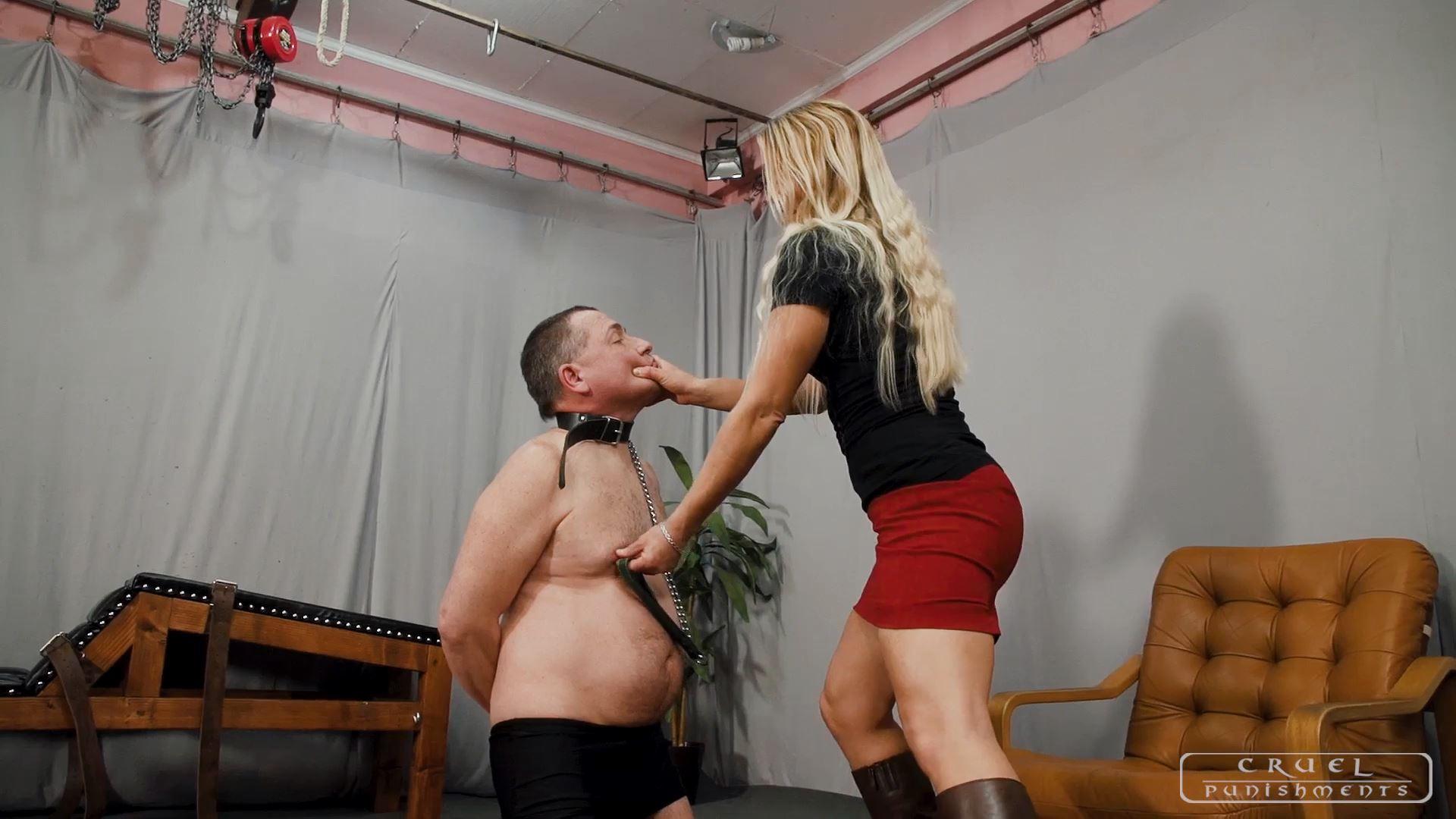 Mistress Zita In Scene: Slave's exercise - CRUEL PUNISHMENTS - SEVERE FEMDOM - FULL HD/1080p/MP4