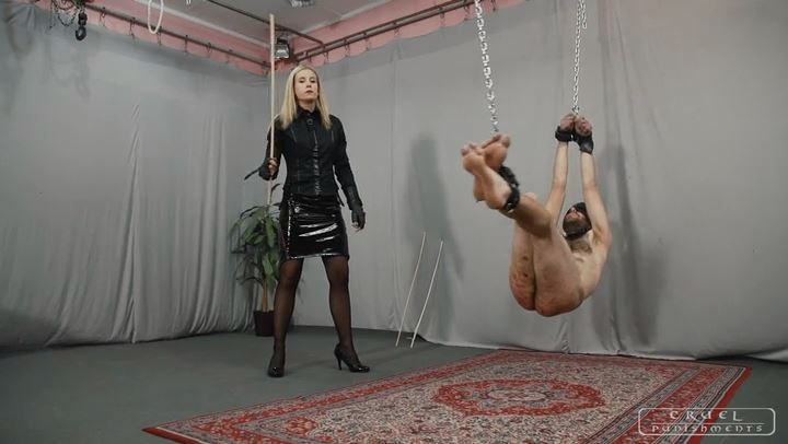 Mistress Anette In Scene: Anette's sadist games Part 3 - CRUEL PUNISHMENTS - SEVERE FEMDOM - SD/406p/MP4