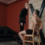 Mistress Bonnie In Scene: Huge slaps and cigarette ash – CRUEL PUNISHMENTS – SEVERE FEMDOM – SD/406p/MP4