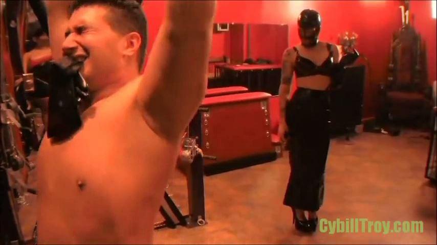 Mistress Cybill Troy In Scene: SADISTIC RUBBER WHIPPING - CYBILL TROY`S DTLA DOMINAS � SD/480p/MP4