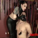 Mistress Cybill Troy In Scene: FORCED SMOKING HAND OVER MOUTH IN LEATHER GLOVES – CYBILL TROY`S DTLA DOMINAS � SD/480p/MP4