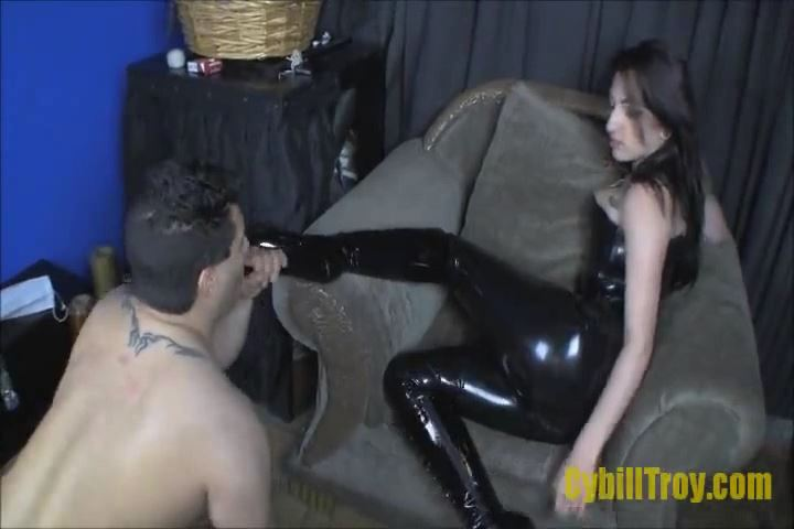 Mistress Cybill Troy In Scene: BLOW MY BOOTS - CYBILL TROY`S DTLA DOMINAS � SD/480p/MP4