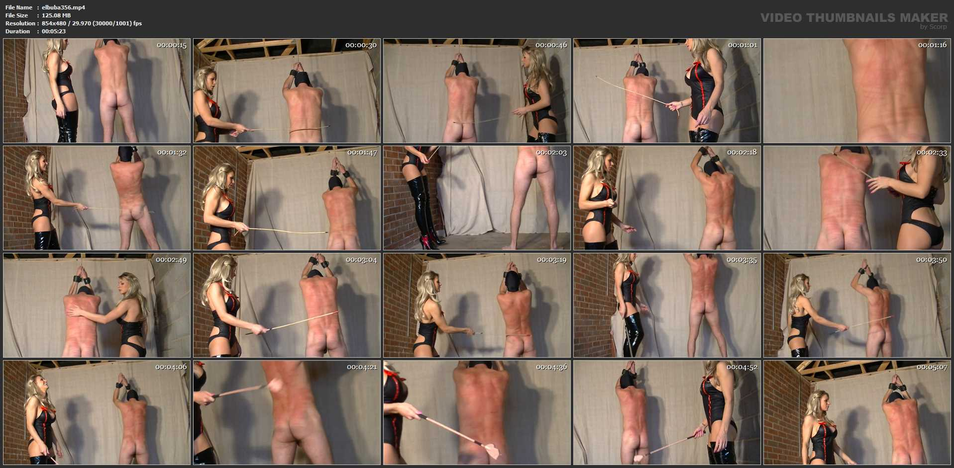 Mistress Elise In Scene: Agonising Punishment - ELISE BULLIES BALLS UK - SD/480p/MP4