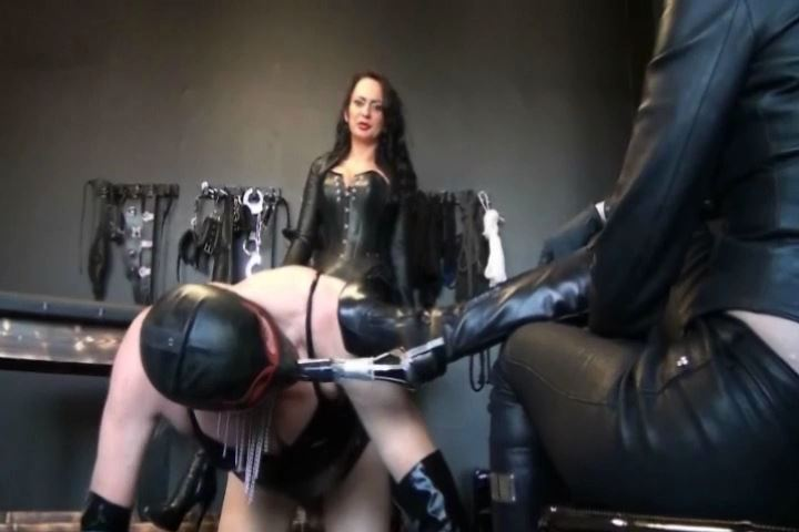 Fetish Diva Nadja In Scene: Education of the slave to blow and fuck mare Part 4 - FETISH-DIVA-NADJA - SD/480p/MP4
