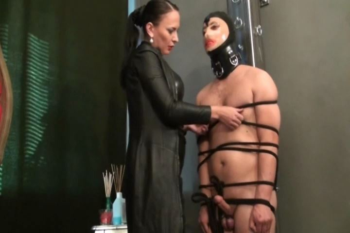 Fetish Diva Nadja In Scene: Chastity and forced capture of the natural sect of the mistress - FETISH-DIVA-NADJA - SD/480p/MP4