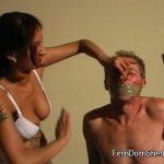 Mistress Evil In Scene: Face Slapping – FEMDOMSHED – SD/576p/MP4
