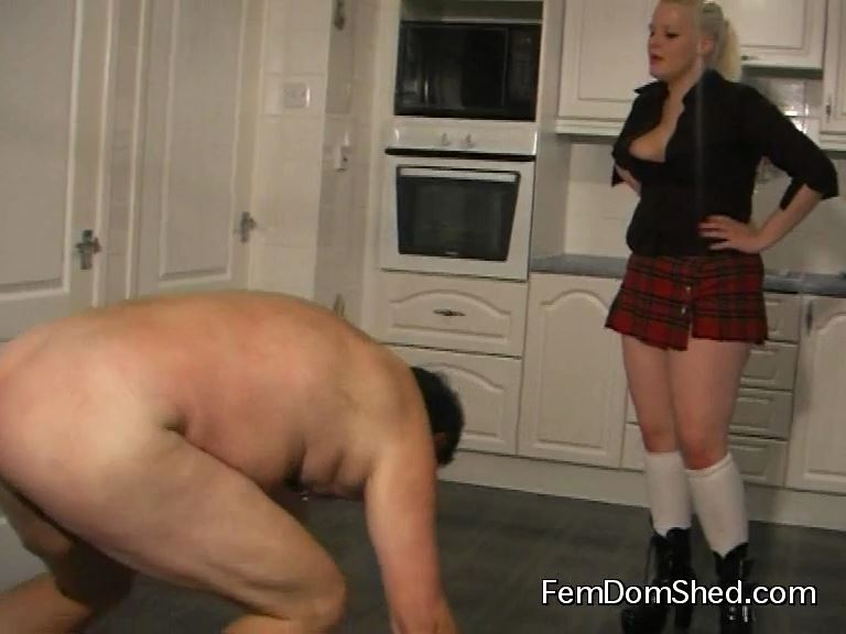 Mistress Insane In Scene: Cock Slapping - FEMDOMSHED - SD/576p/MP4
