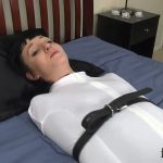 Cadence Cross In Scene: Sleepsack Bound Orgasm Denial – FETISHPROS – HD/720p/MP4