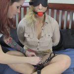 Andre Shakti, Krysta Kaos In Scene: Belt Bondage Struggle – FETISHPROS – HD/720p/MP4