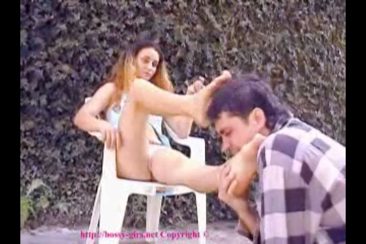 Bad Girls from Brazil Video 5 Palm of foot worship - BOSSY-GIRLS / GIRLSDOMINATION - SD/480p/MP4