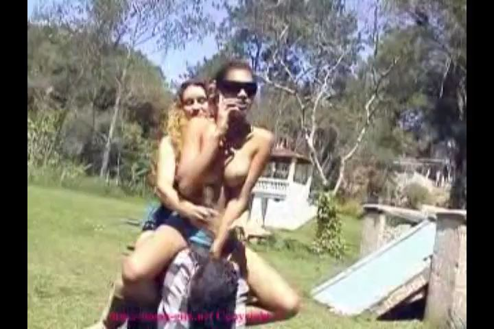 Bad Girls from Brazil Video 2 Merry Pony Ride - BOSSY-GIRLS / GIRLSDOMINATION - SD/480p/MP4