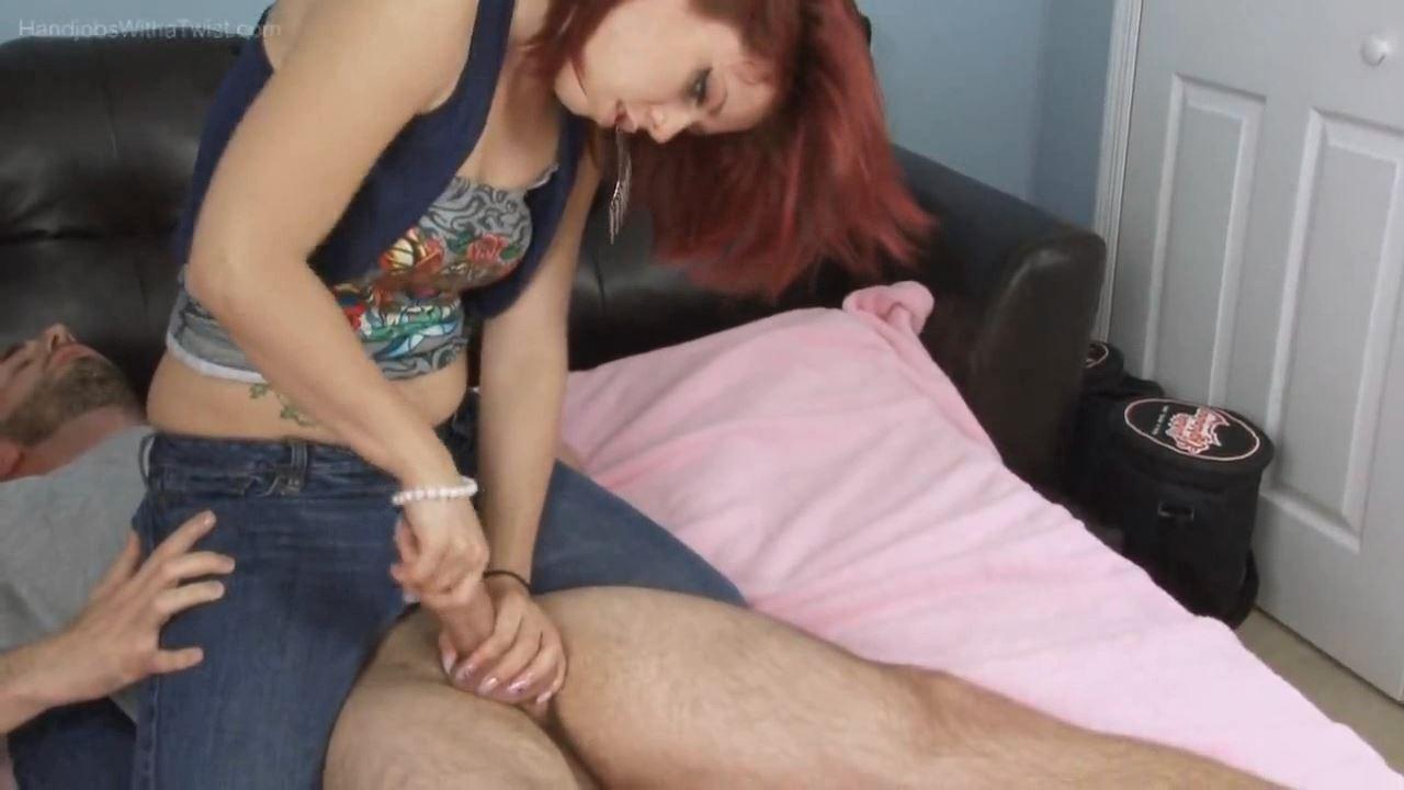 Ivy In Scene: Reverse Cowgirl Handjob - HANDJOBSWITHATWIST - HD/720p/MP4