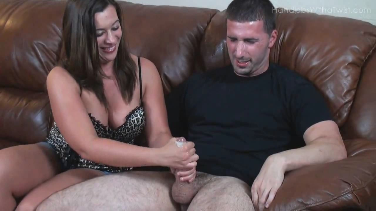 SOFT DAINTY HANDS AND THE BIG HARD COCK - HANDJOBSWITHATWIST - HD/720p/MP4
