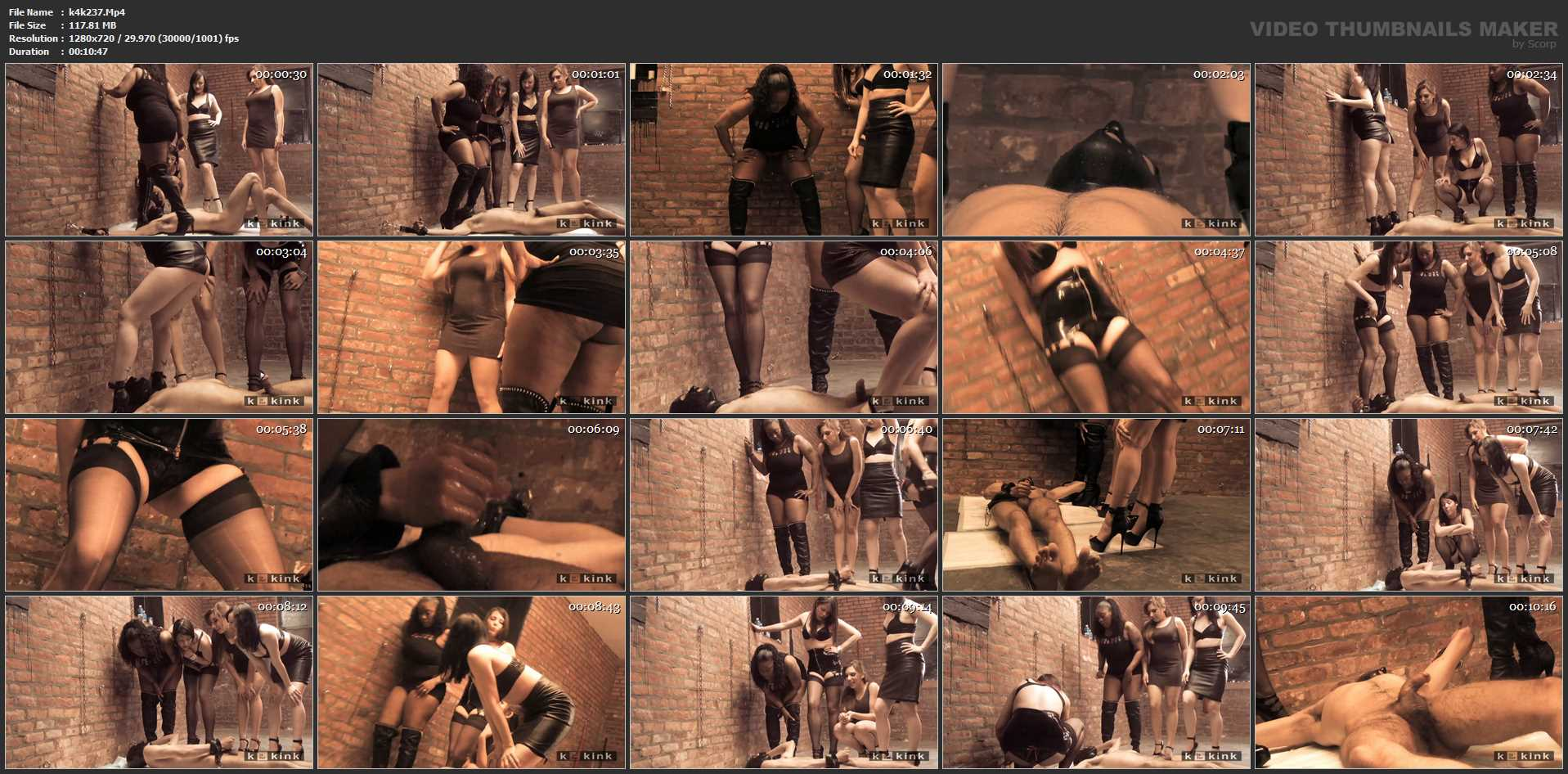 4 Domme Piss Fest - CLIPS4SALE / K IS FOR KINK: PREMIUM FEMDOM FILMS - HD/720p/MP4