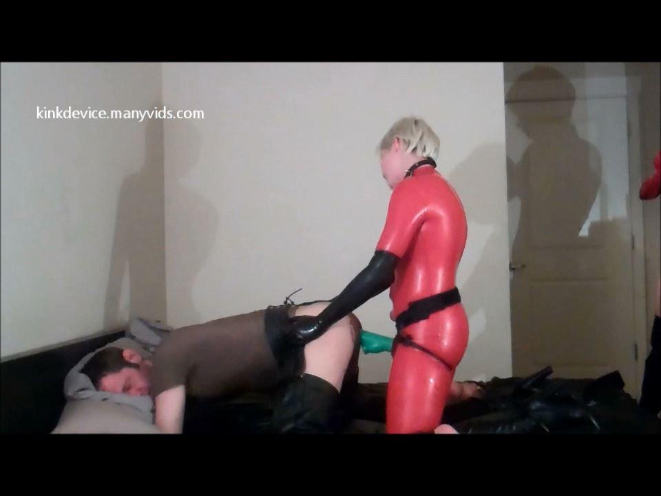 Nyk vs. Kittie & Slave! 1st View - KINKDEVICE - HD/720p/MP4