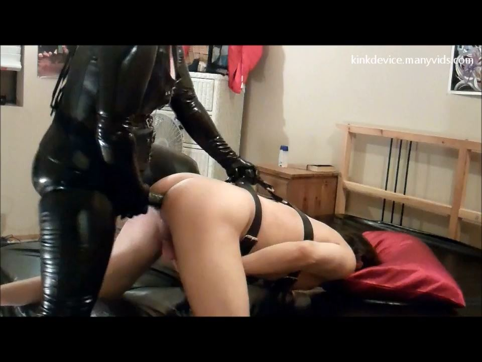 Veronica's Vinyl Up And Under - KINKDEVICE - HD/720p/MP4
