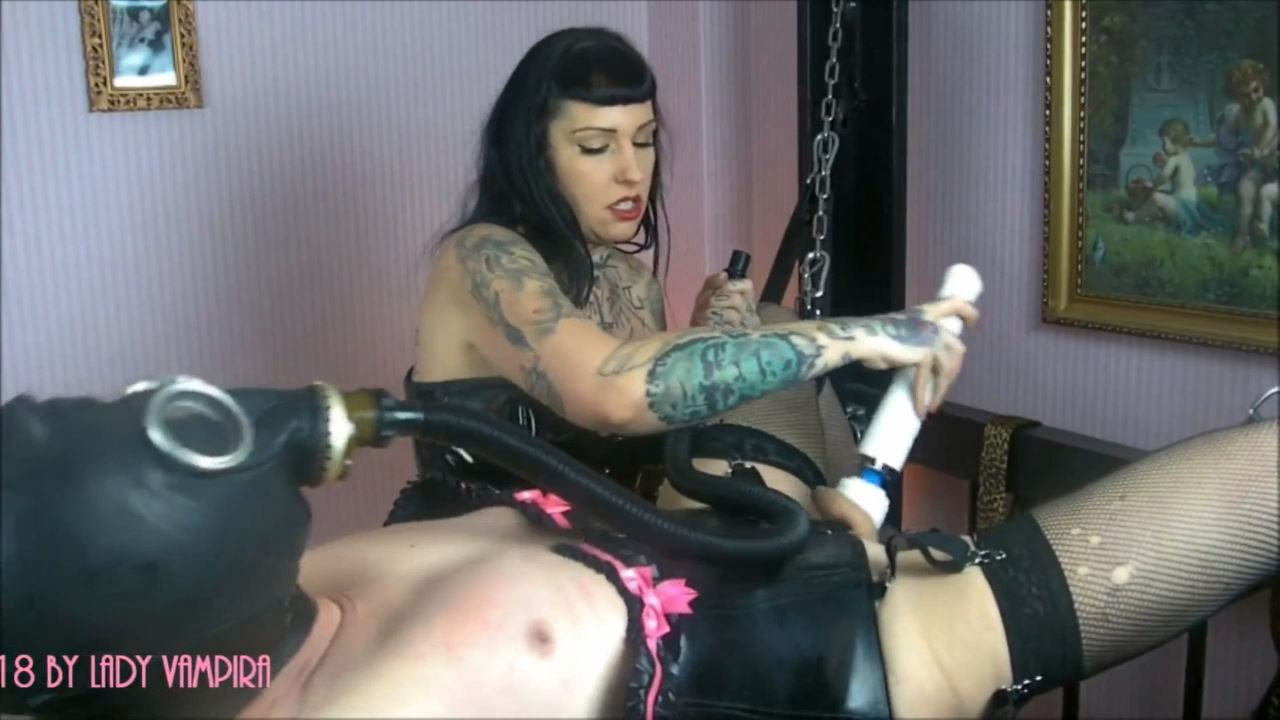 Lady Vampira In Scene: Rubberdoll Sissyfication Part 3 - PIN UP DOMINATION BY LADY VAMPIRA - HD/720p/MP4
