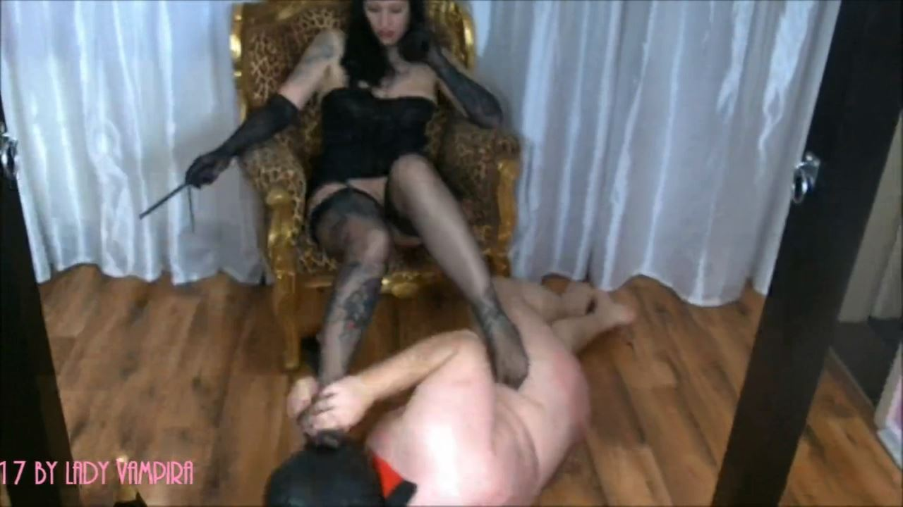 Lady Vampira In Scene: The Rockabilly Femme Domme Fatale in High Heels & Nasty Nylons Part 1 - PIN UP DOMINATION BY LADY VAMPIRA - HD/720p/MP4