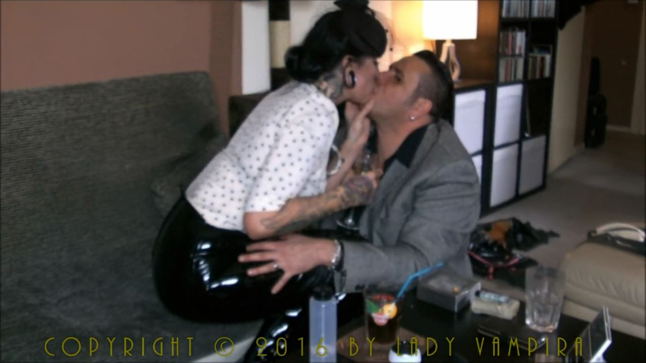 Lady Vampira In Scene: Lady Vampira on house visit Part 1 - PIN UP DOMINATION BY LADY VAMPIRA - HD/720p/MP4