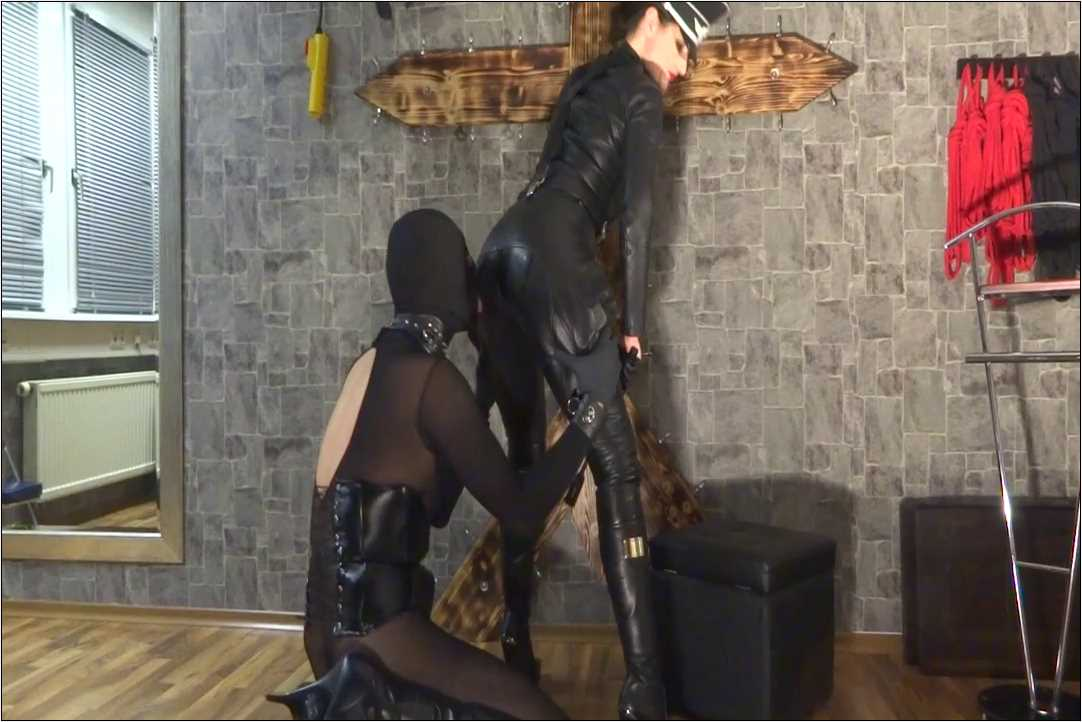 Lady Victoria Valente In Scene: Lick my leather ass dirty slave pig - LADYVICTORIAVALENTE / REAL GERMAN MISTRESS - HD/720p/MP4