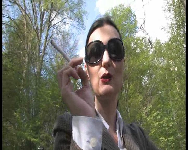 Lady Victoria Valente In Scene: Femdom POV: Be my human ashtray outdoors - LADYVICTORIAVALENTE / REAL GERMAN MISTRESS - SD/576p/WMV