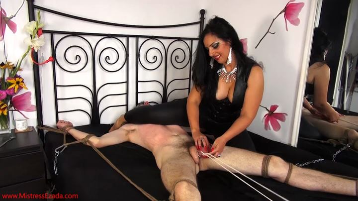 Mistress Ezada Sinn In Scene: Branded By My Red Long Nails - MISTRESSEZADA - SD/404p/MP4