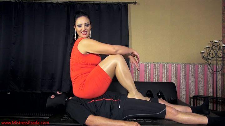 Mistress Ezada Sinn In Scene: Human Trampling Mat Test - MISTRESSEZADA - SD/406p/MP4