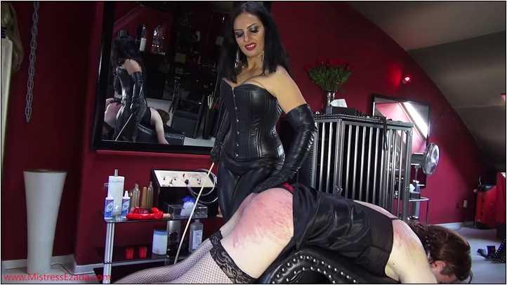 Mistress Ezada Sinn In Scene: Slave To Take Caning For Her Pleasure - MISTRESSEZADA - SD/404p/MP4