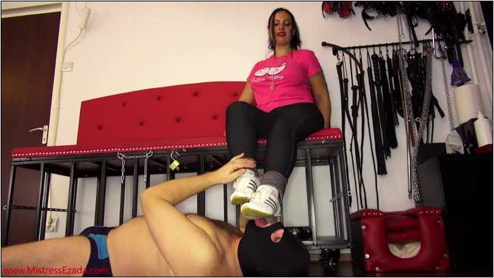 Mistress Ezada Sinn In Scene: Sports Shoes Worship Instead - MISTRESSEZADA - SD/404p/MP4