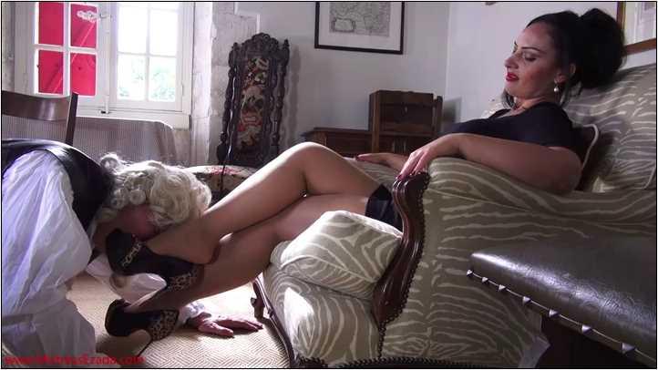 Mistress Ezada Sinn In Scene: Stupid Shoe Lover - MISTRESSEZADA - SD/404p/MP4