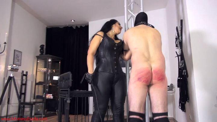 Mistress Ezada Sinn In Scene: The Test Of The Heavy Whip - MISTRESSEZADA - SD/406p/MP4