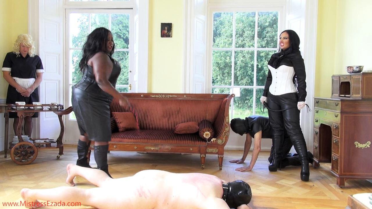 Mistresses Ezada Sinn Mistress Ezada Sinn, Madame Caramel In Scene: Whipping Punishment - MISTRESSEZADA - HD/720p/MP4