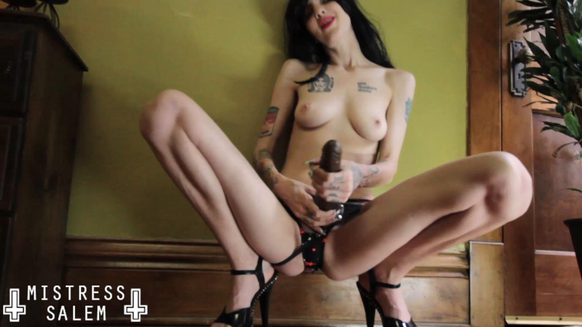 Mistress Salem In Scene: Worship My Cock - MISTRESS SALEM - FULL HD/1080p/MP4