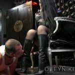 Mistress Nikita In Scene: Spit Shine – OBEYNIKITA – HD/720p/MP4