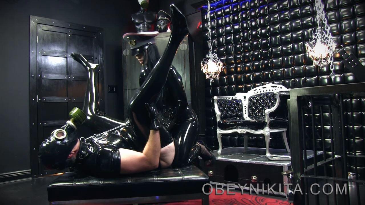 Mistress Nikita In Scene: Rubber Fuck Toy - OBEYNIKITA - HD/720p/MP4