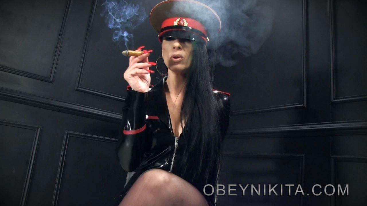 Mistress Nikita In Scene: Cigar Smoke - OBEYNIKITA - HD/720p/MP4