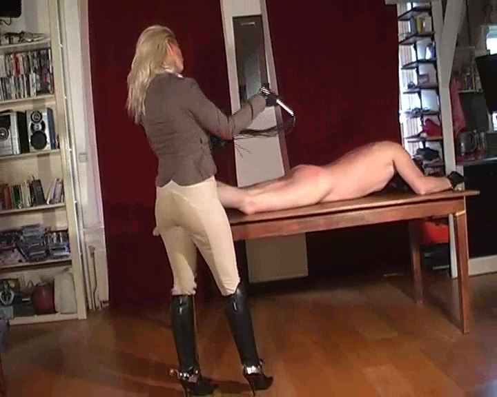 Mistress Kelly Kalashnik In Scene: NO MERCY FOR THE STABLE BOY - RIDING-MISTRESS / DUTCH FEMDOM - SD/576p/MP4