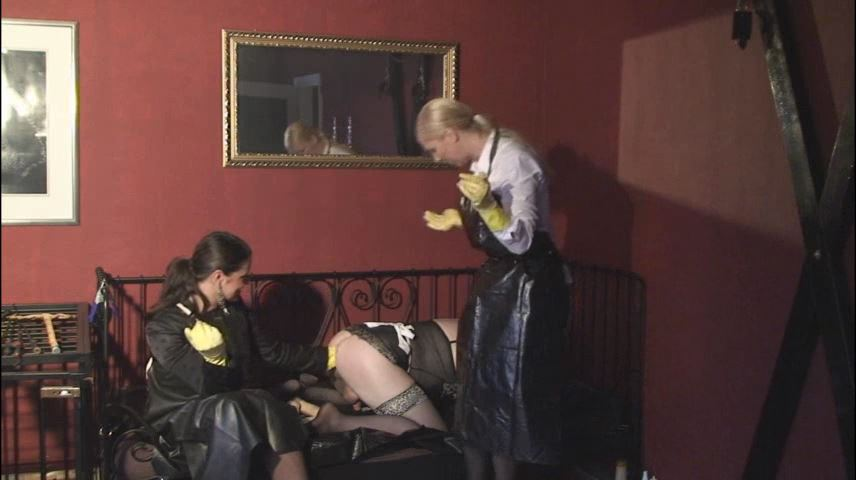Lady Asmodena In Scene: Cleaning Slut 7 - STRAPON-GODDESS - SD/480p/MP4