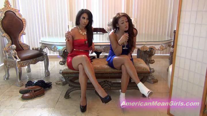 Mistress Tangent, Princess Carmela In Scene: Trample Agony Bonus Interview - THE MEAN GIRLS POV - SD/406p/MP4