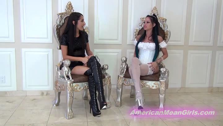 Princess Bella, Princess Raven In Scene: We Destroy Foot Losers Lives - THE MEAN GIRLS POV - SD/406p/MP4