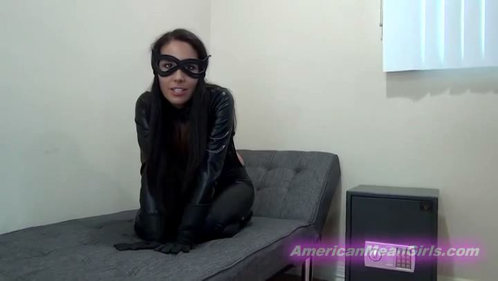 Princess Bella as Catwoman In Scene: YOU ARE CATWOMAN'S PRISONER - THE MEAN GIRLS POV - SD/406p/MP4