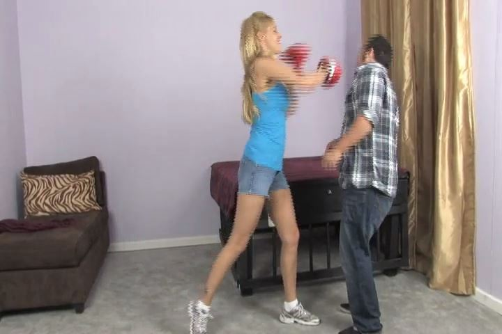 Nicole lets Mike out of his cage - BEATENBYGIRLS - SD/480p/MP4