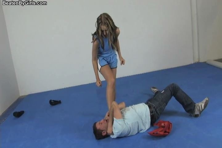 Kid Dynamite gets beat up by a very angry girl - BEATENBYGIRLS - SD/480p/MP4