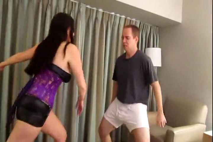 Mistress Samantha In Scene: SAMANTHA GRACE POPS SOME TESTICLES - CRUDELIS AMATOR BALLBUSTING FETISH - SD/480p/MP4