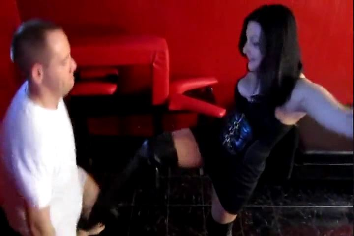 Mistress Michelle Lacy In Scene: MICHELLE LACY`S BOOTS TO BALLS - CRUDELIS AMATOR BALLBUSTING FETISH - SD/480p/MP4