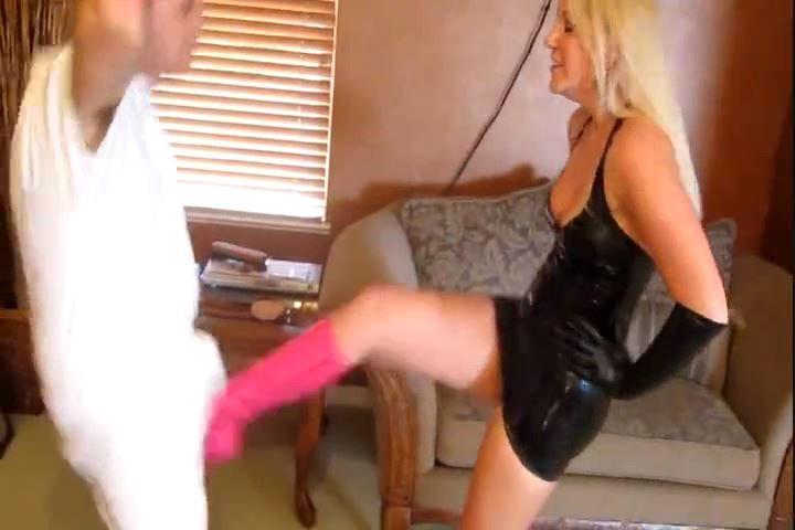 Mistress Ashley Edmonds In Scene: You Asked For It - CRUDELIS AMATOR BALLBUSTING FETISH - SD/480p/MP4