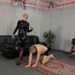 Mistress Bonnie In Scene: Mistress Bonnie's punching bag – CRUEL PUNISHMENTS – SEVERE FEMDOM – HD/720p/MP4