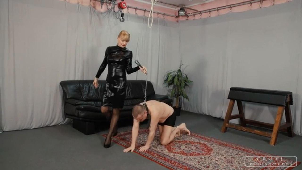 Mistress Bonnie In Scene: Mistress Bonnie's punching bag - CRUEL PUNISHMENTS - SEVERE FEMDOM - HD/720p/MP4